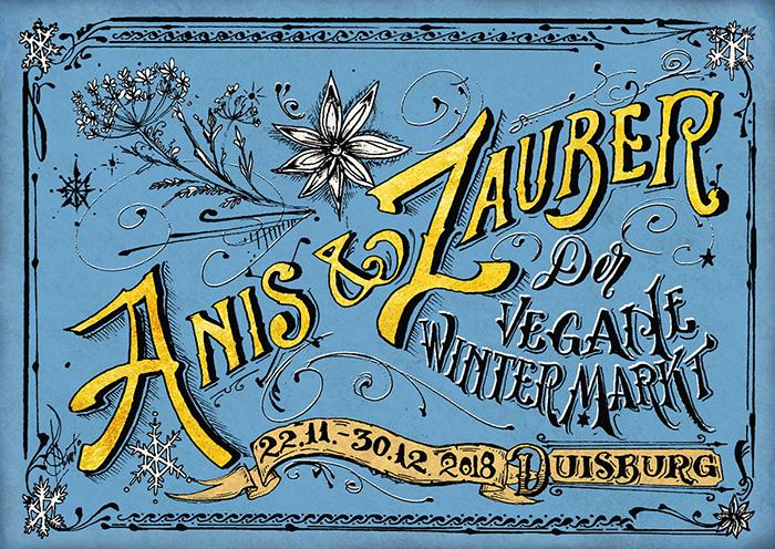 Anis & Zauber – der vegane Wintermarkt!